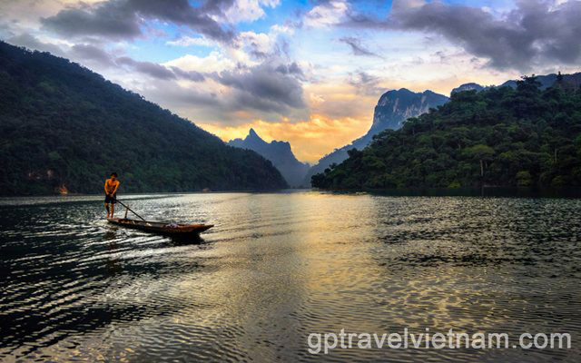 Excursion à Ba Be – 3 jours:  VEXN10
